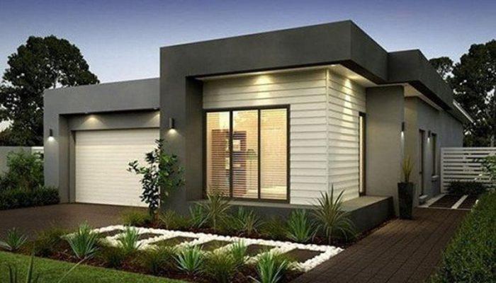 Nhà mái bằng thiết kế hiện đại