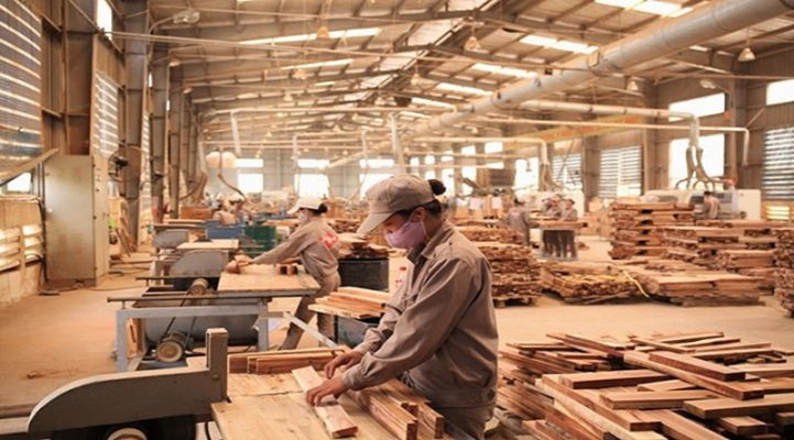 Xưởng sản xuất nội thất gỗ