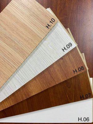 Các loại trần nhựa giả gỗ PVC NANO Vĩnh Phúc