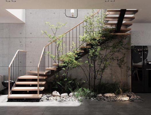 Không gian xanh trong ngôi nhà