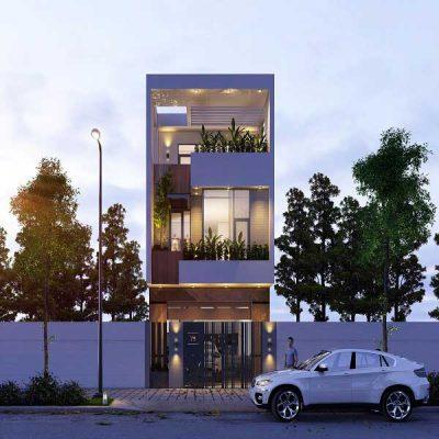 Những Mẫu nhà 3 tầng 4x15m đẹp nhất tại Vĩnh Phúc