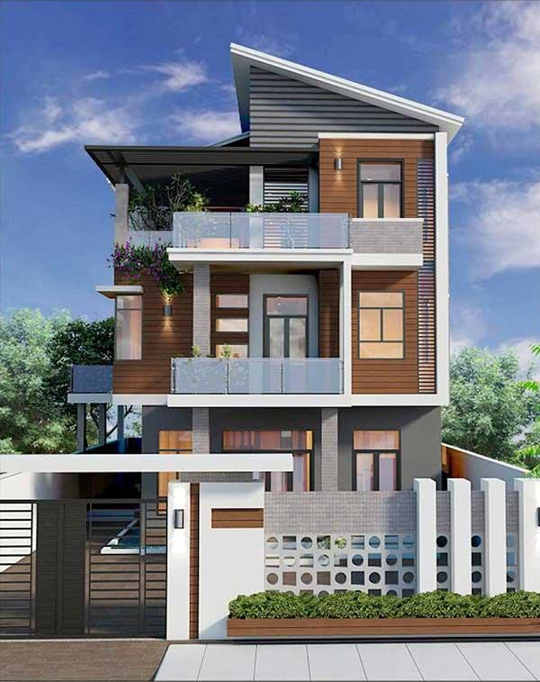 Những mẫu nhà 3 tầng 6x20m đẹp hiện đại nhất hiện nay
