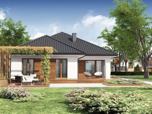 Nhà mái Thái nghỉ dưỡng