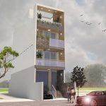 Chiêm ngưỡng thiết kế nhà phố 4 tầng đẹp ngây ngất tại Hải Phòng