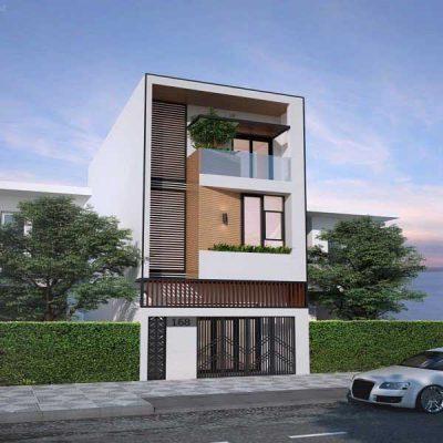 Thiết kế mẫu nhà 3 tầng 4x15 đẹp tại Vĩnh Phúc