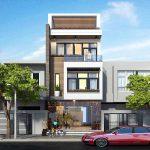 Thiết kế mẫu nhà 3 tầng 4×15 đẹp tại Vĩnh Phúc