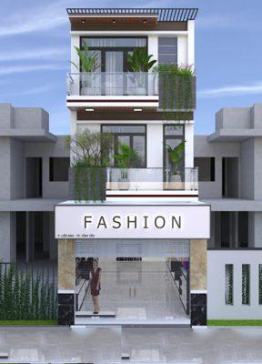 Thiết kế nhà phố kết hợp kinh doanh và cho thuê