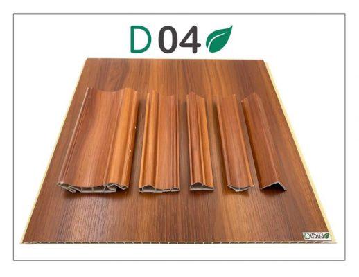 Phào cổ trần giả gỗ PVC NANO Vĩnh Phúc