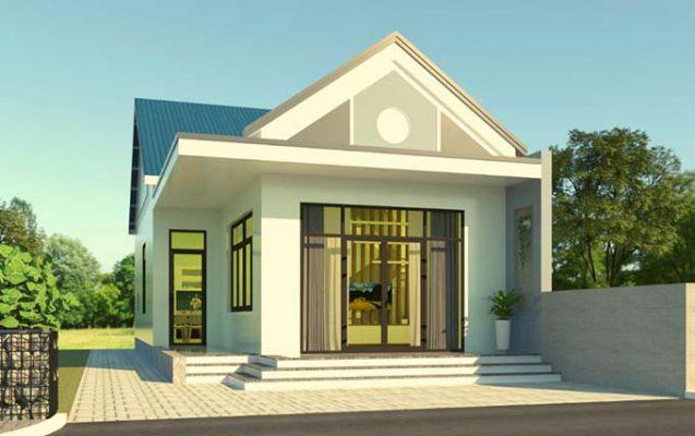 Phong cách thiết kế kiến trúc nhà cấp 4 ấn tượng nhất hiện nay