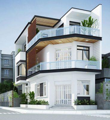 Nhà lô góc 3 tầng 2mặt tiền đẹp