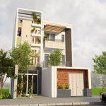 Chiêm ngưỡng nhà phố 3 tầng 1 tum đẹp long lanh tại Thái Bình