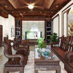 Thiết kế nội thất hiện đại nhà anh Văn tại Vĩnh Tường- Vĩnh Phúc