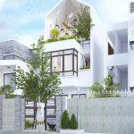 Top 10 mẫu thiết kế nhà phố hiện đại ấn tượng nhất năm 2021