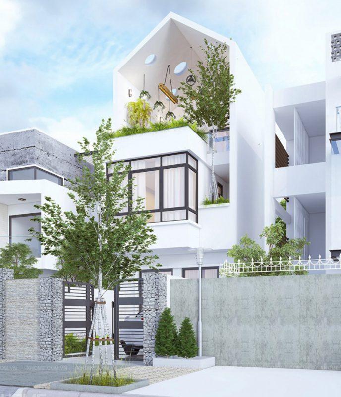 thiết kế nhà phố hiện đại ấn tượng nhất năm 2021