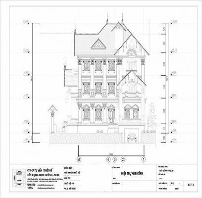 Chi tiết những mẫu biệt thự 400 m2 tại Vĩnh Phúc