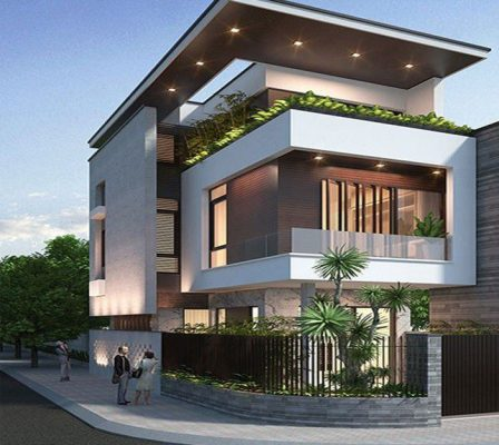 Mẫu nhà 2 tầng 7x12 m2 xinh xắn tại Vĩnh Yên