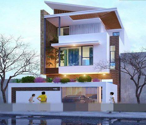 Chi tiết nhà 2 tầng 7x12 m2 Tại Vĩnh Yên