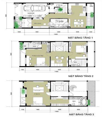 Báo giá thiết kế nhà tại Vĩnh Phúc