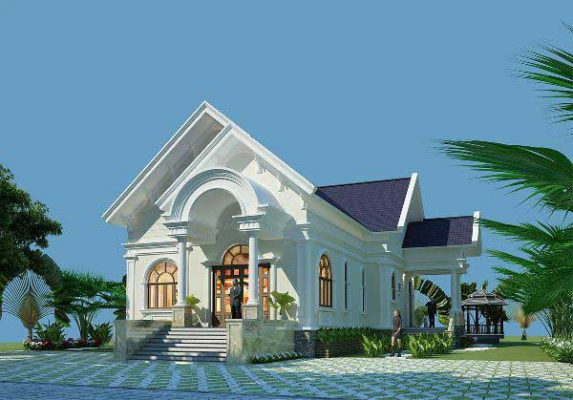 Nhà cấp 4 mái thái giá dưới 600 triệu tại Vĩnh Phúc
