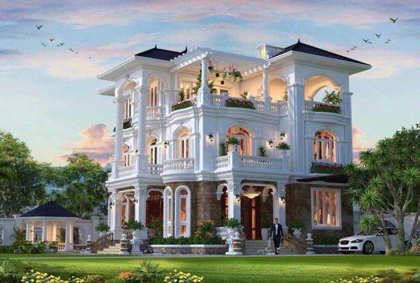 Chi tiết các mẫu biệt thự vườn nổi nhất mới nhất tại Vĩnh Phúc