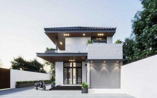 Tổng quát về mẫu biệt thự mái nhật tại Phú Thọ