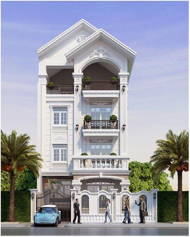 Thiết kế biệt thự mái thái tại Phú Thọ