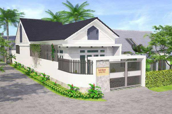 Mẫu thiết kế nhà cấp 4 dưới 500 triệu tại Vĩnh Phúc