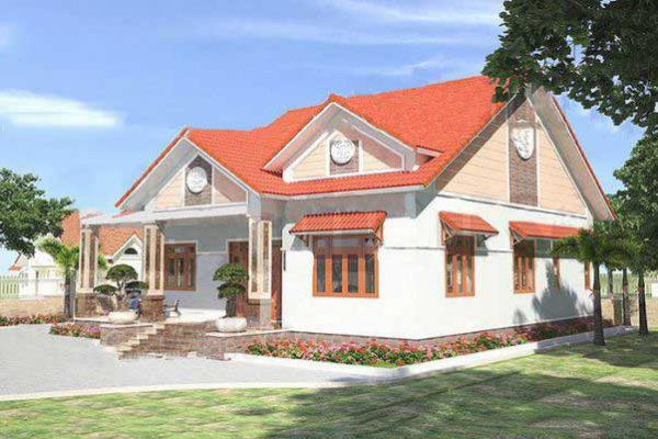Báo giá thiết kế nhà cấp 4 dưới 500 triệu tại Vĩnh Phúc