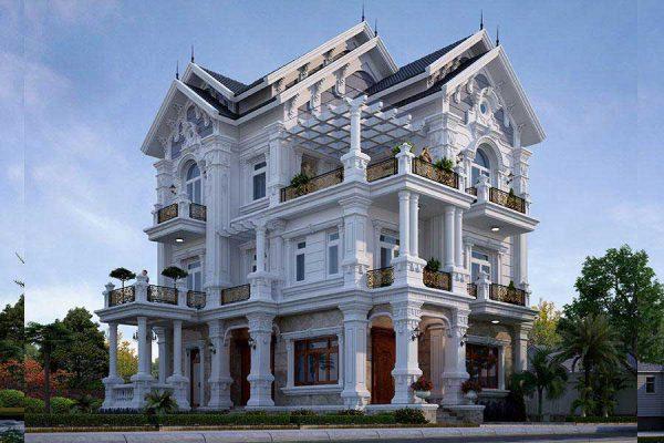 Đơn vị thiết kế thi công biệt thự số 1 tại Phú Thọ