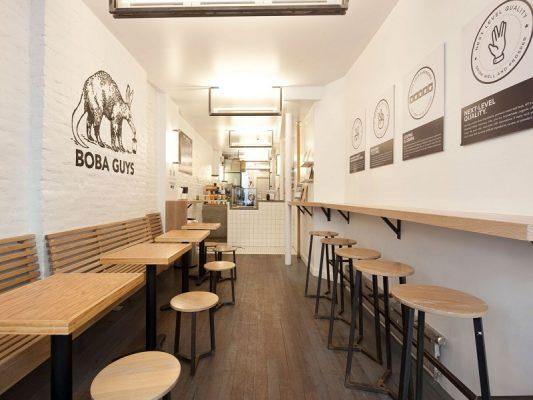 Thiết kế quán café nhà ống đẹp nhất năm 2021