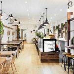 Thiết kế quán cafe nhà ống đẹp nhất năm 2021