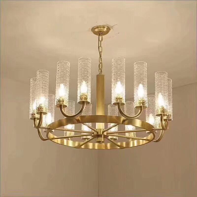 Mẫu đèn chùm pha lê đẹp sang trong nhất tại Vĩnh Phúc