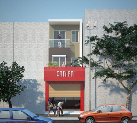 Nhà 3 tầng mặt phô sử dụng kinh doanh