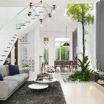Thiết kế nội thất hiện đại cho nhà phố
