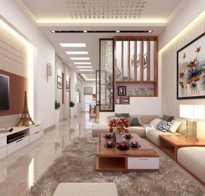 Mẫu thiết kế nội thất cho mẫu nhà cấp 4 diện tích 100m2 độc đáo được ưa chuộng