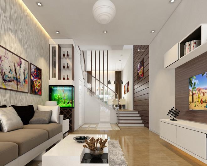 Thiết kế nội thất nhà ống 4x15m đẹp nhất tại Vĩnh Phúc