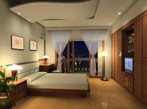 Thiết kế nội thất phòng ngủ đơn giản thông dụng