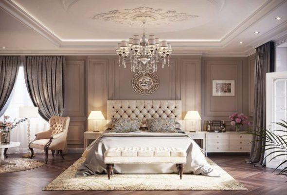 Phong cách tân cổ điển trong thiết kế nội thất phòng ngủ
