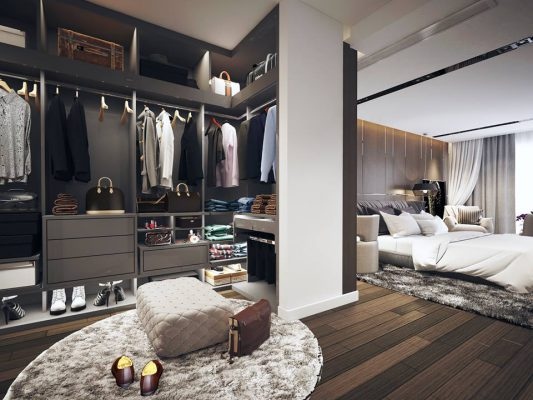 Thiết kế nội thất phòng ngủ diện tích 40m2