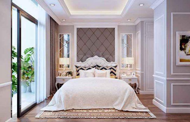 Mẫu thiết kế nội thất phòng ngủ nhà cấp 4 đẹp