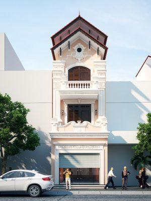 Thiết kế nhà lô phố hiện đại