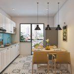 Thiết kế nội thât chung cư 70m2 đẹp và tiện nghi