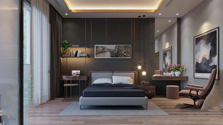 Nội thất phòng ngủ cho Vila 3 tầng anh Phước
