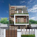 Thiết kế thi công Vila 3 tầng hiện đại Anh Phước Vĩnh Phúc