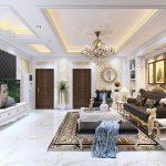 Xu hướng thiết kế nội thất phòng khách mới nhất năm 2021