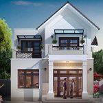 Thiết kế nhà 2 tầng tiện nghi giá rẻ tại Phú Thọ
