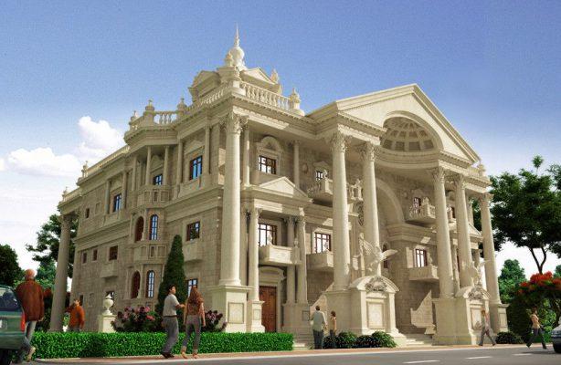 Tổng quát những mẫu biệt thự cổ điển tại Phú Thọ