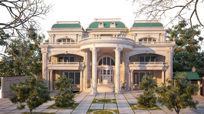 Đơn vị thiết kế thi công biệt thự cổ điển tại Phú Thọ