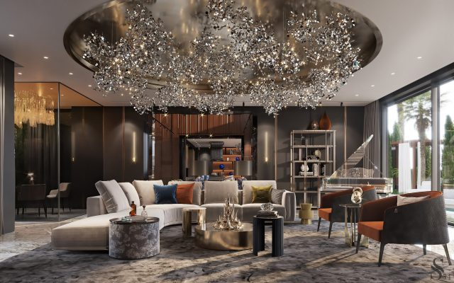 Nhận thi công thiết kế nội thất biệt thự đẹp nhất tại Phú Thọ