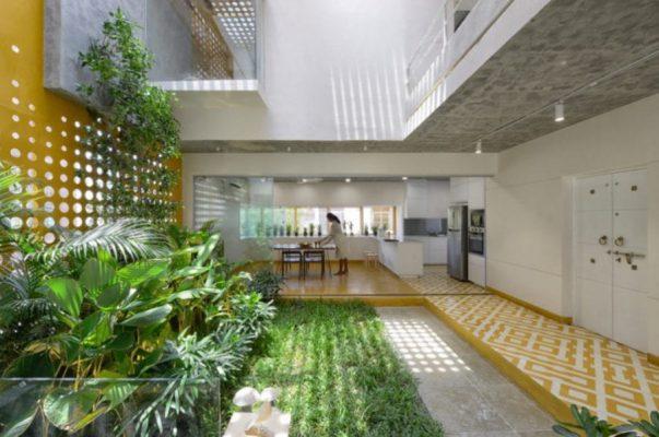 Xu hướng thiết kế kiến trúc xanh